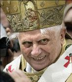 creepy pope