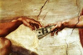 1 Kings 4:21-23 - And the lord spake:  Get money, bitches.  Dolla Dolla Bills, ya'll!